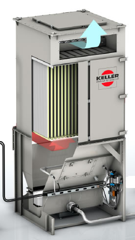 Keller ProBran Y-Filter Collector Collector